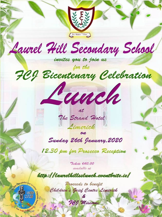 FCJ Bicentenary Lunch