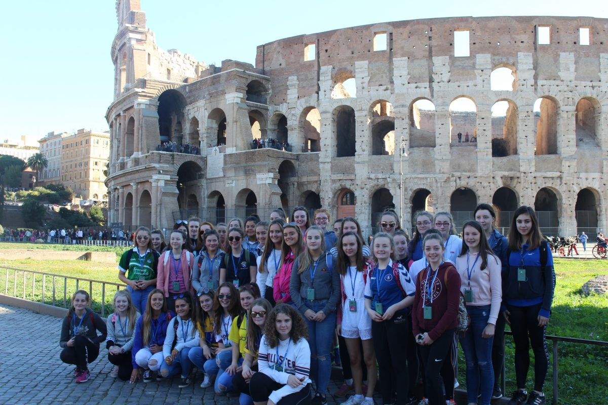 Nd Year Trip To Italy Laurel Hill Secondary School Limerick - Tour to italy