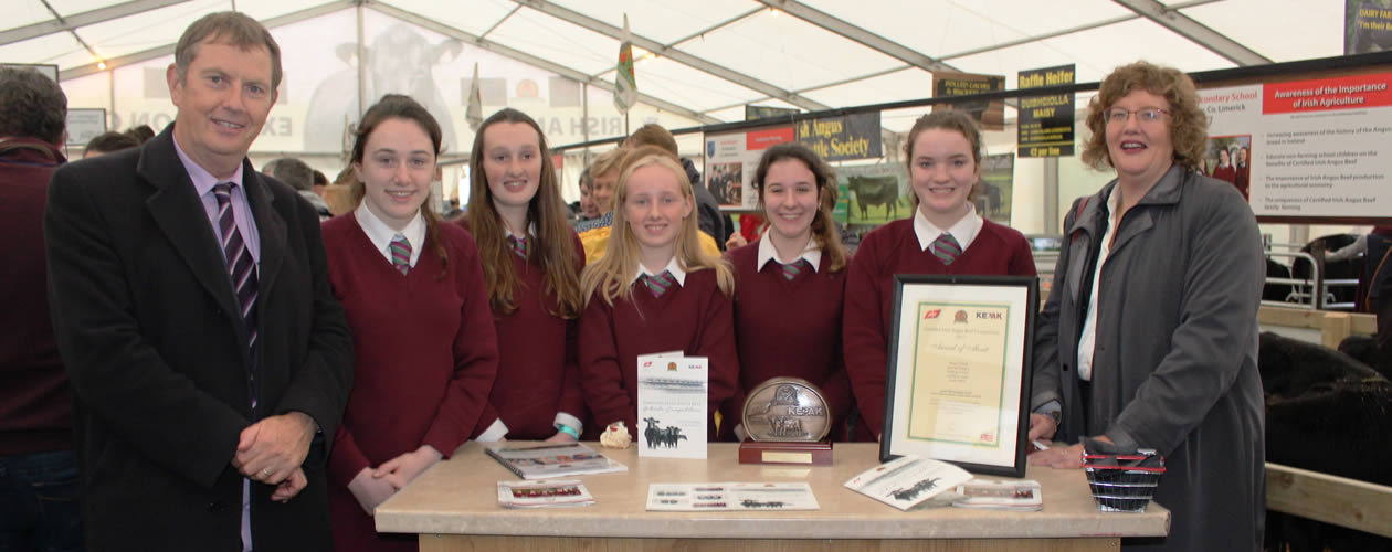 Certified Irish Angus Beef School Competition