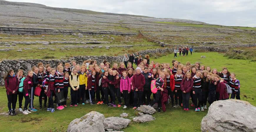 1st Year Burren Walk